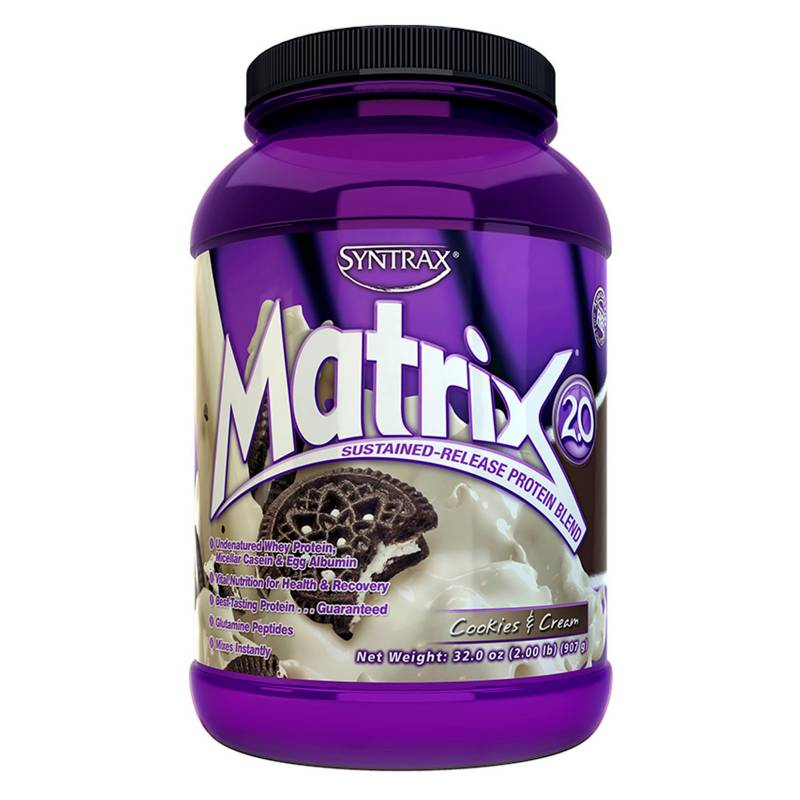 Syntrax Sports Nutrition - Proteína Matrix 2.0 Cookies and Cream