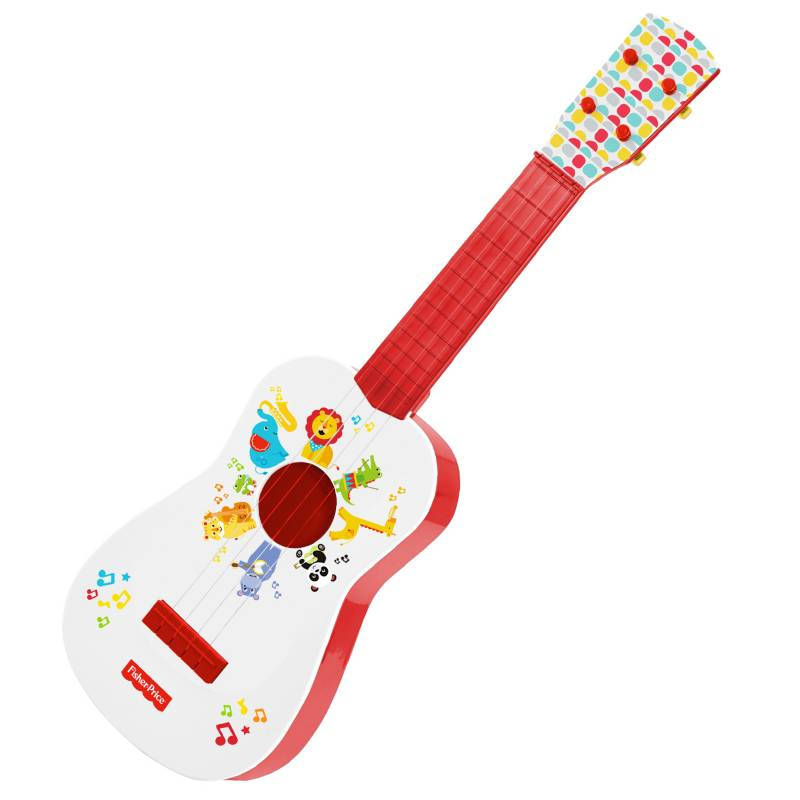 Fisher Price - Juguete Mi Primera Guitarra Musical Animalitos