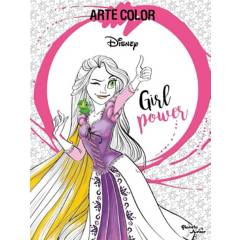 Editorial Planeta - Arte Color: Girl Power - Disney