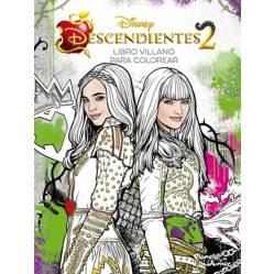 Descendientes 2: Libro villano para colorear