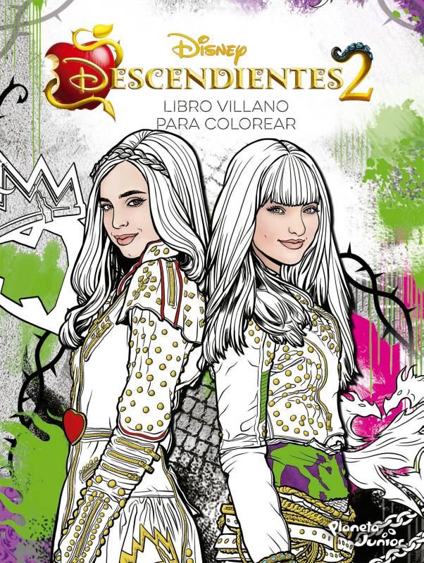 Editorial Planeta - Descendientes 2: Libro villano para colorear