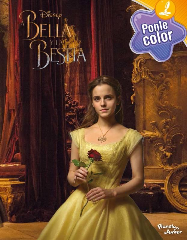 Editorial Planeta - La Bella y la Bestia: Ponle color