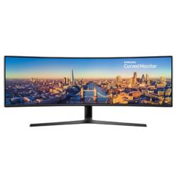"Samsung - Monitor LCD Curvo 49"" 3840x1080 144 Hz LC49J890DKNXZA"