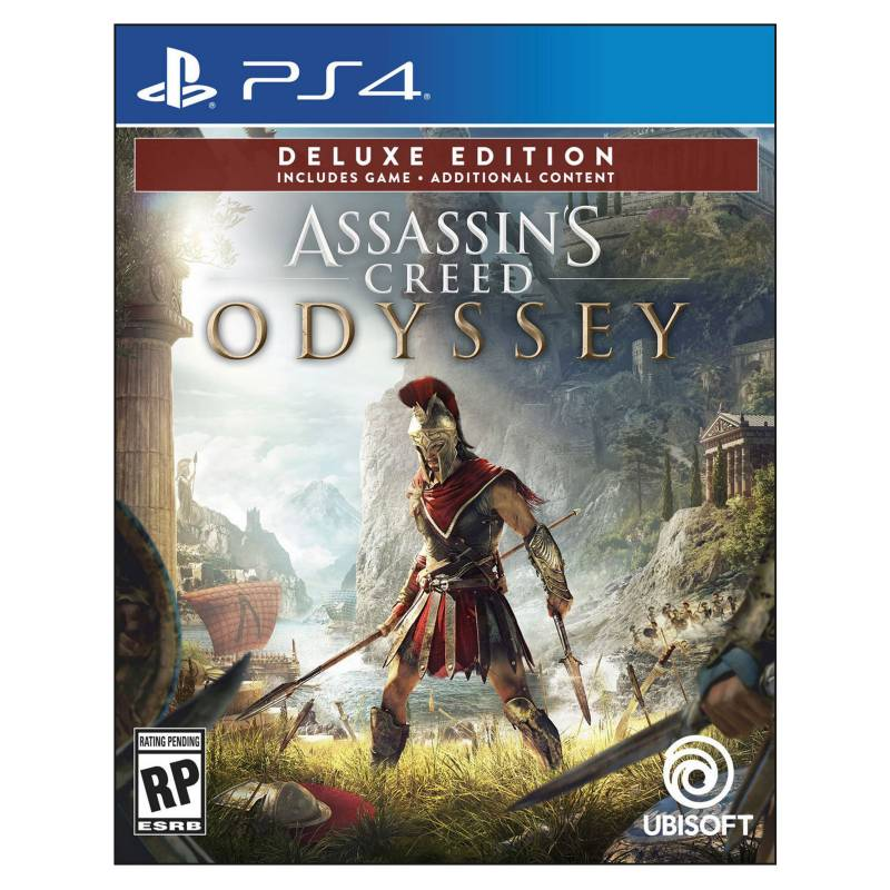 Ubisoft - Videojuego Assasins Creed Odyssey Deluxe Edition PS4
