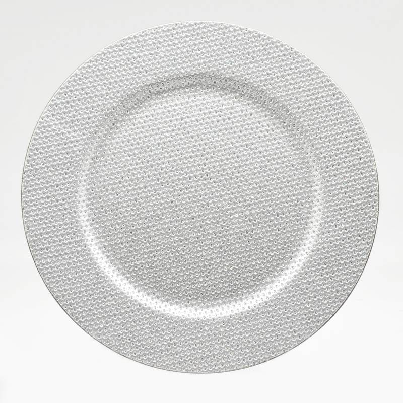 PINCASO - Plato Decorativo Enveje 33 cm Blanco Verde