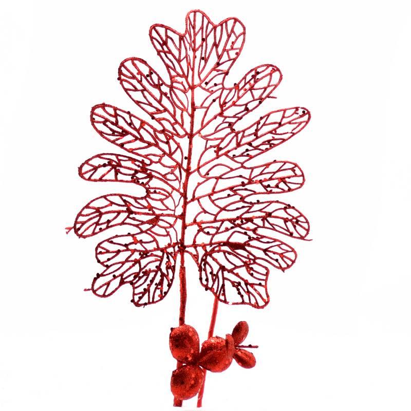 PINCASO - Spray Hoja Calada Rojo 50 cm