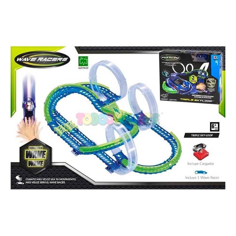 Wave Racers - Pista Sky Loop Triple