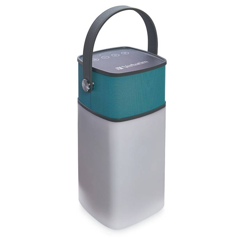 Verbatim - Parlante portátil Altavoz linterna 2 en 1 Bluetooth