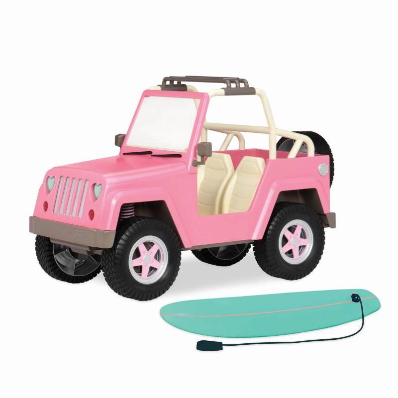Our Generation - Carro 4 x 4 con Componentes Electro
