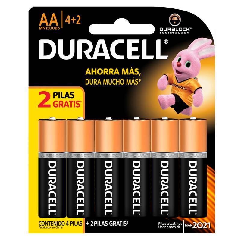 DURACELL - Pilas Duracell AA Blister x 6