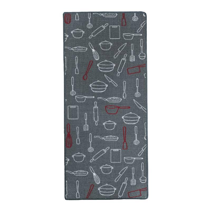 Cuperz - Tapete Agata Cocina 67 x 130 cm Rojo