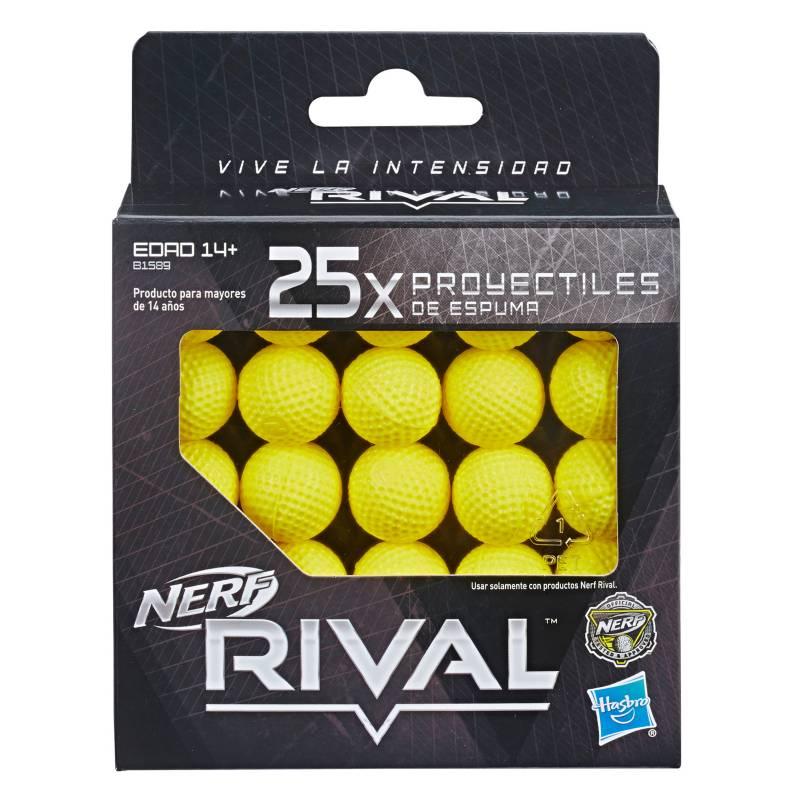 Nerf - Nerf Rival Pack de Rondas x 25 unds