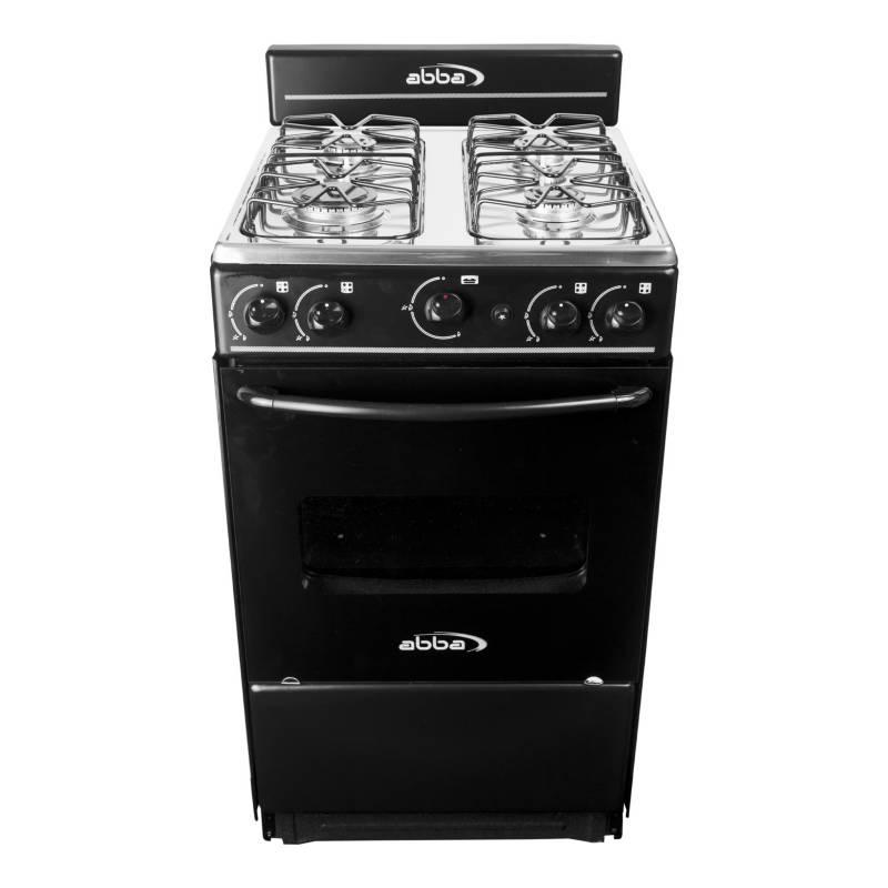Abba - Cocina a gas 4 quemadores AT 101-5N N