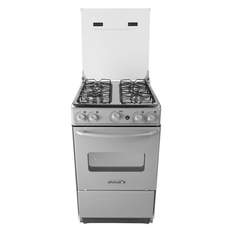Abba - Cocina a gas 4 quemadores AT 101-6N G