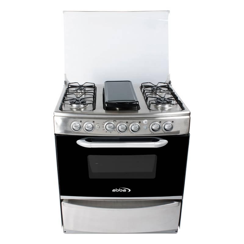 Abba - Cocina a gas 6 quemadores RG 802-4N PL