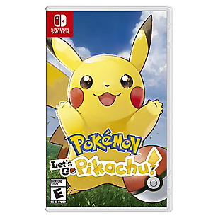 Videojuego Pokemon Let's Go, Pikachu Nintendo Switch