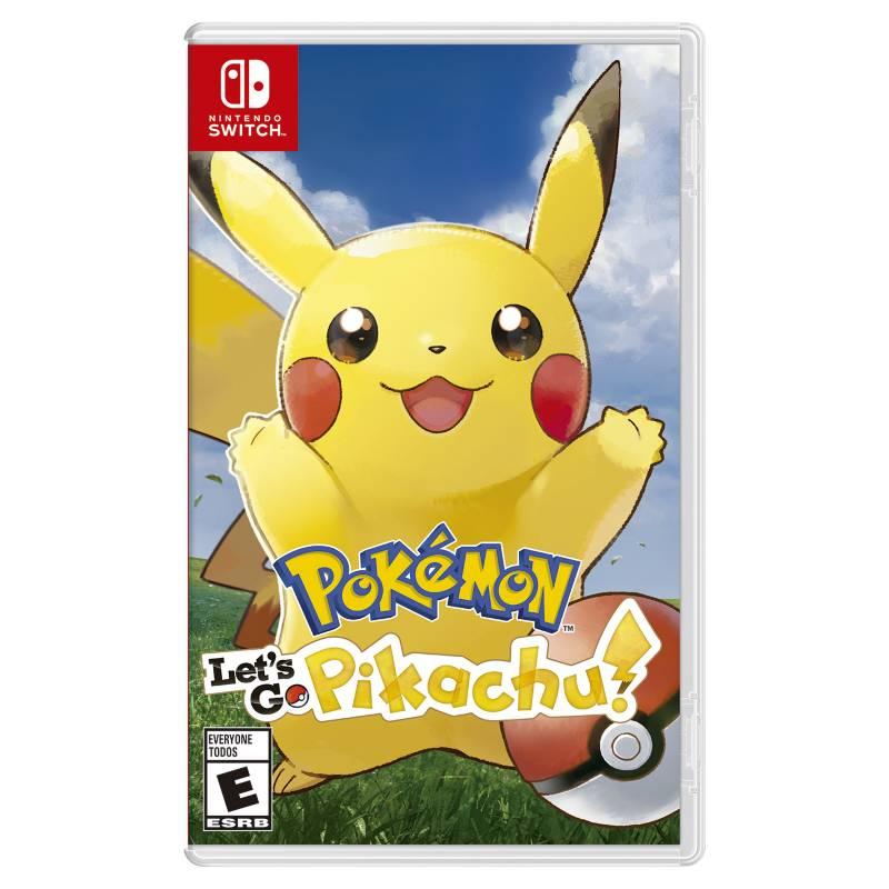 Nintendo - Videojuego Pokemon Let's Go, Pikachu Nintendo Switch