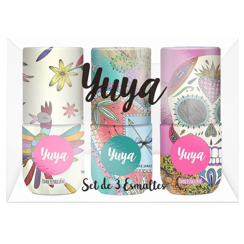 Yuya - Set de 3 Esmaltes