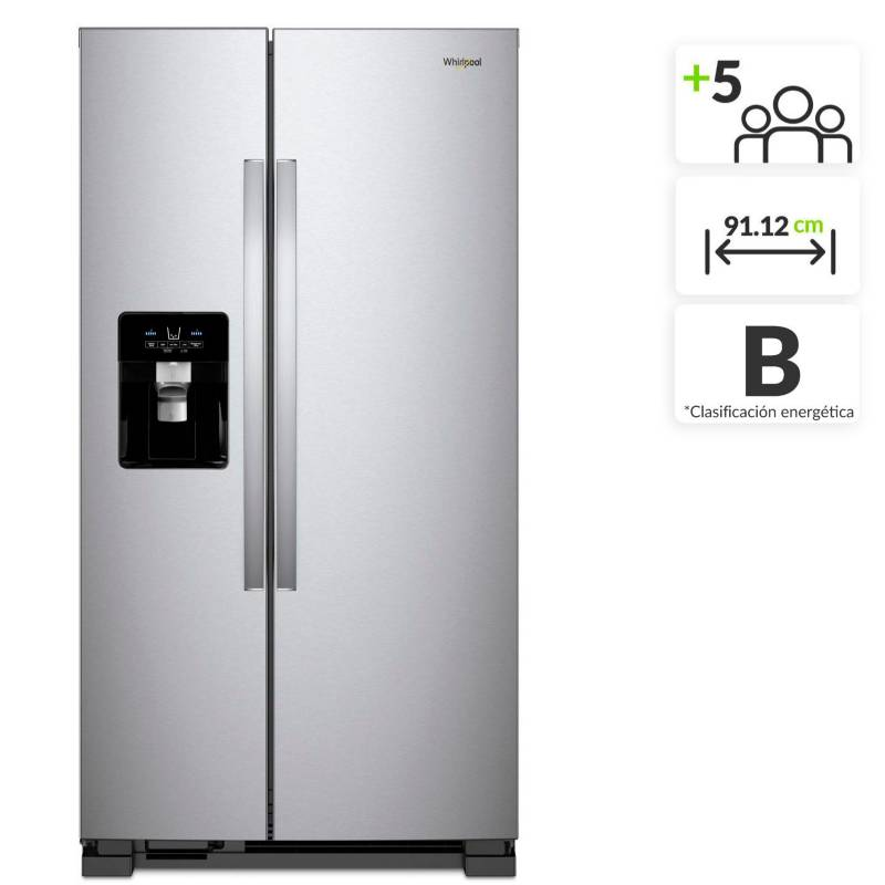 Whirlpool - Nevecón Whirlpool Side by Side 656 lt 7WCS25SDHM