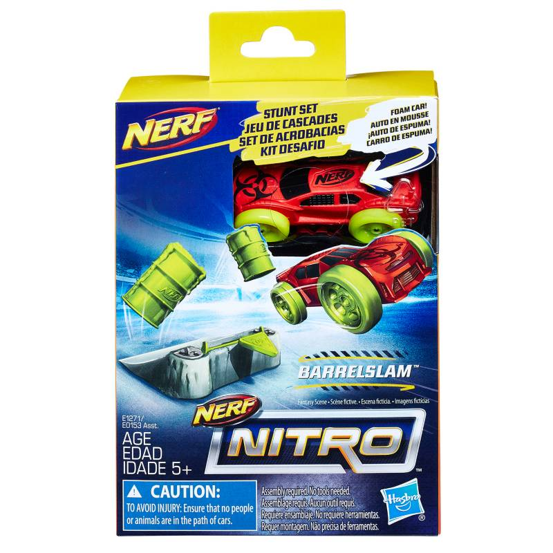 Nerf - Lanzador Nitro Barrel Slam