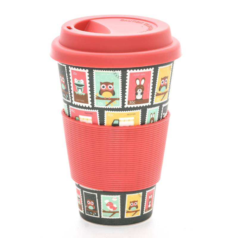 Bamboo Cup - Bamboo Cup Post Mark Rojo