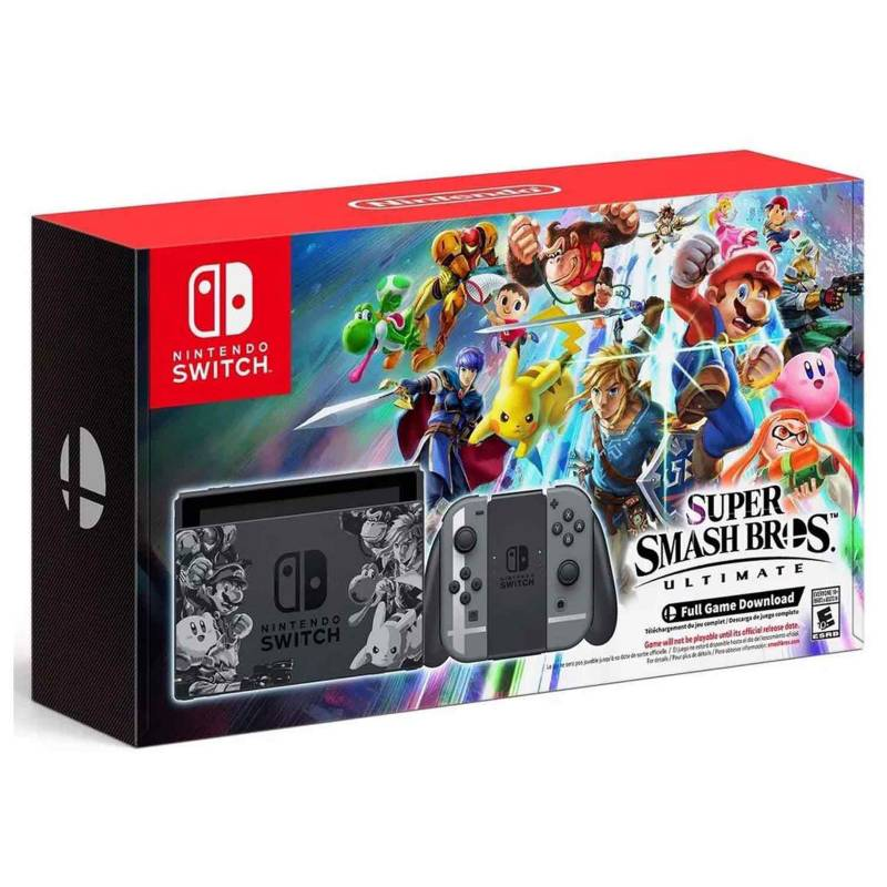 Nintendo - Consola Nintendo Switch Super Smash Bros. Bundle 32GB
