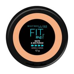 Maybelline - Polvo Compacto Fit Me Mate & Sin Poros 12 Gr