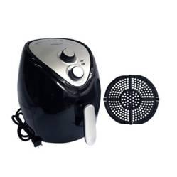 Freidor eléctrico con aire caliente Sin Aceite Air Fryer Fríe y Hornea Negra 3.5 lt RH-91
