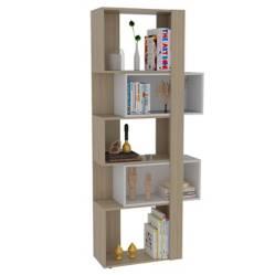 RTA MUEBLES - Biblioteca Acacia 180 X 60 X 28.6 cm Rovere / Bc