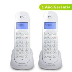 Motorola - Teléfono inalámbrico M700W-2 CA