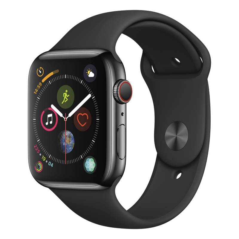 Apple - Apple Watch Series 4 GPS + Cellular 44 mm 4G MTX22LZ/A