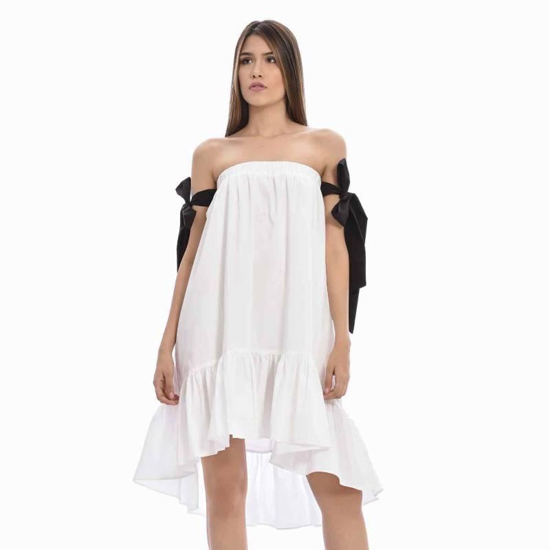 Primia - Vestido Corto Boleros