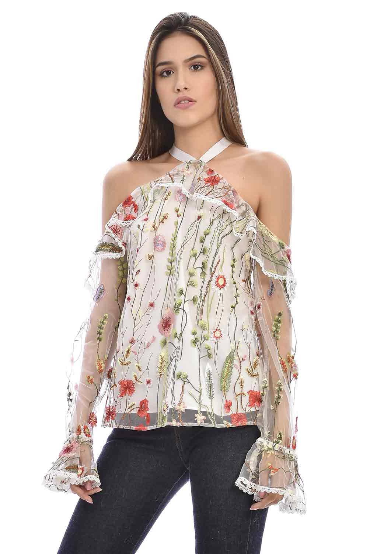 Primia - Camisa Floral