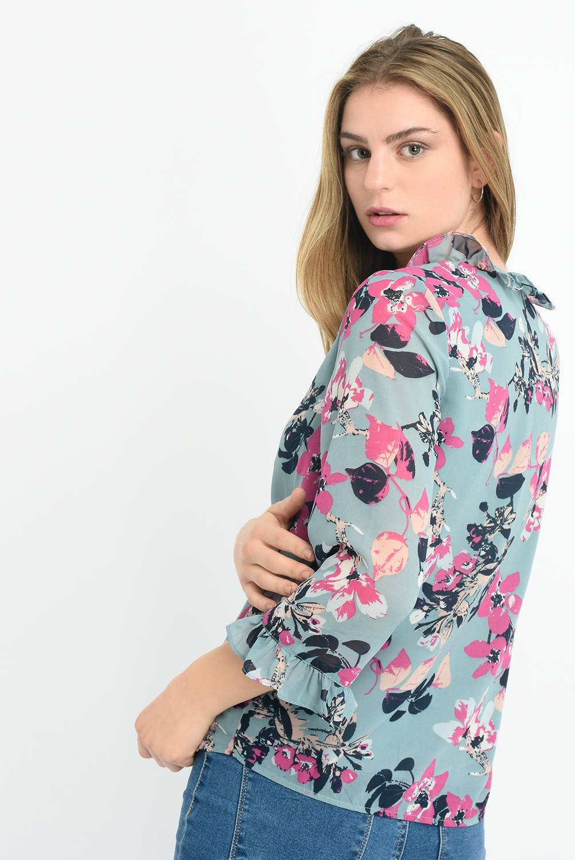 Vero Moda - Blusa Mujer Manga 3/4 Vero Moda