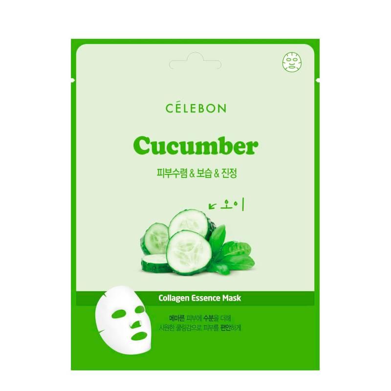 Celebon - Mascarilla Facial Cocombro Colágeno