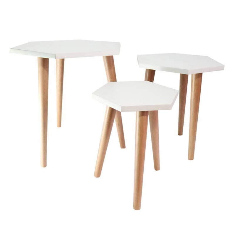 DKO Design - Set x 3 Mesas Linea Paris