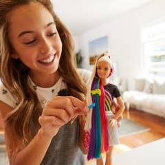 Barbie - Barbie Peinados de Arcoíris