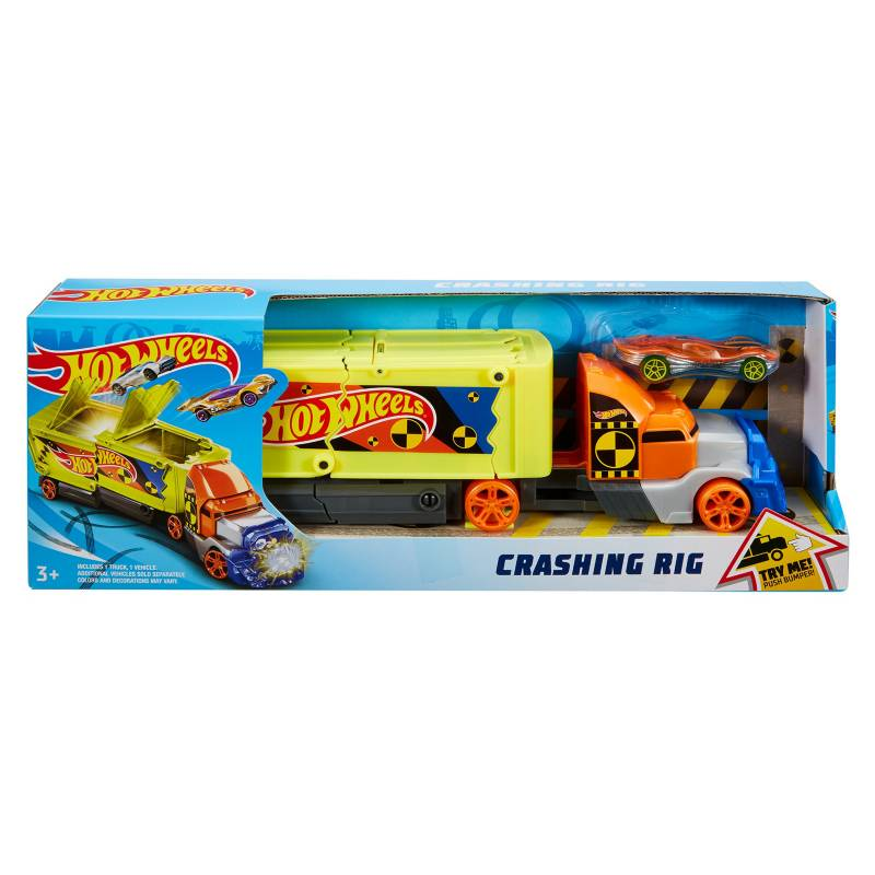 Hot wheels - Hot Wheels Remolque de Choques