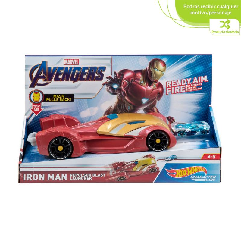 Hot wheels - Hot Wheels Marvel Lanzador de Vehiculos