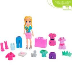 Polly Pocket - Polly Pocket Pack de Modas Vacaciones