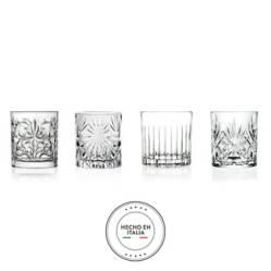 RCR - Vasos Mixology Cristal Rcr Set x4