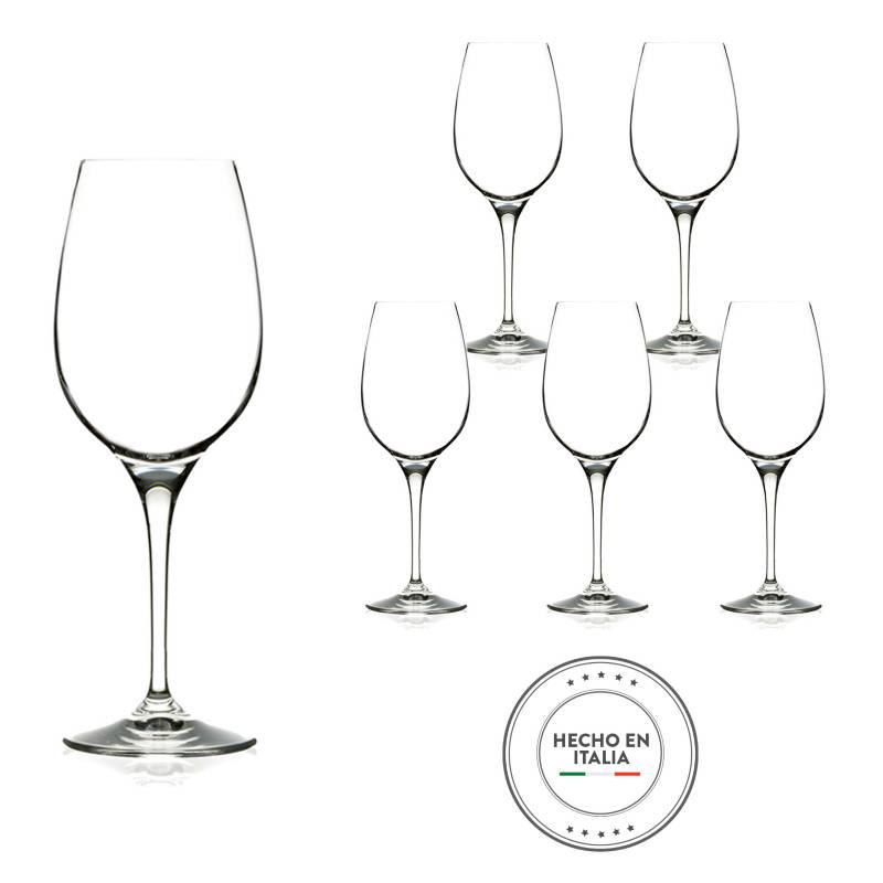 RCR - Copa Invino Blanco Cristal Set x6