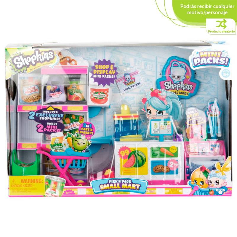 Shopkins - Shopkins S10 Mini Packs Set Mercado