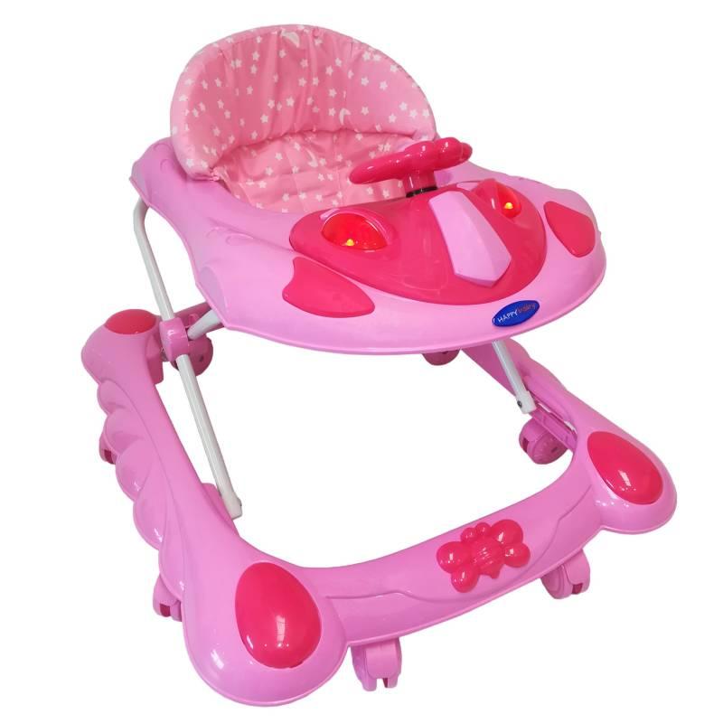 Happy Baby - Caminador Musical Cm-004 Rosa