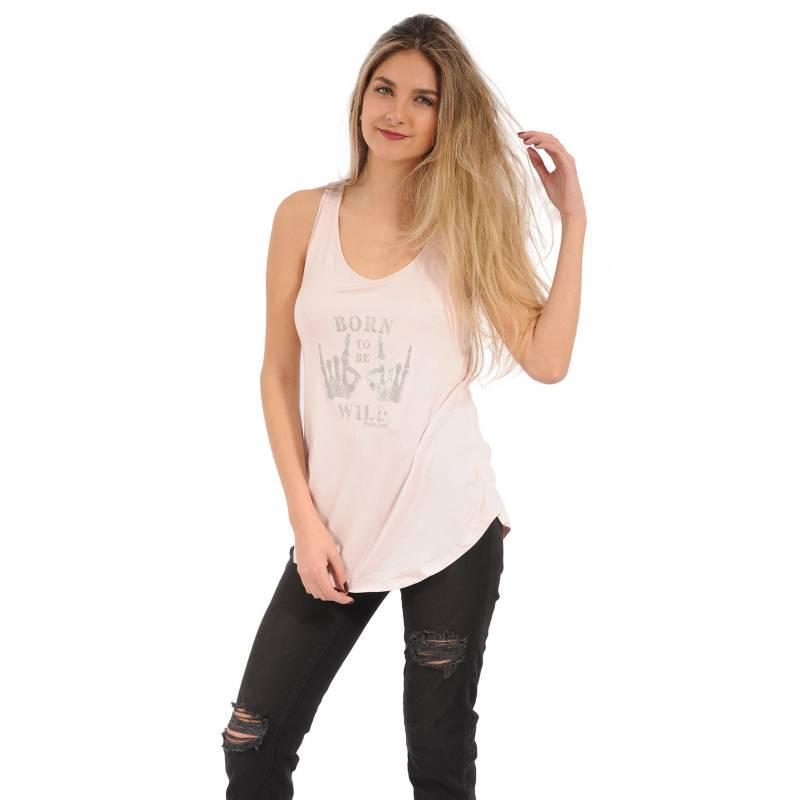 Rosé Pistol - Camiseta Mujer Sin Mangas Rosé Pistol