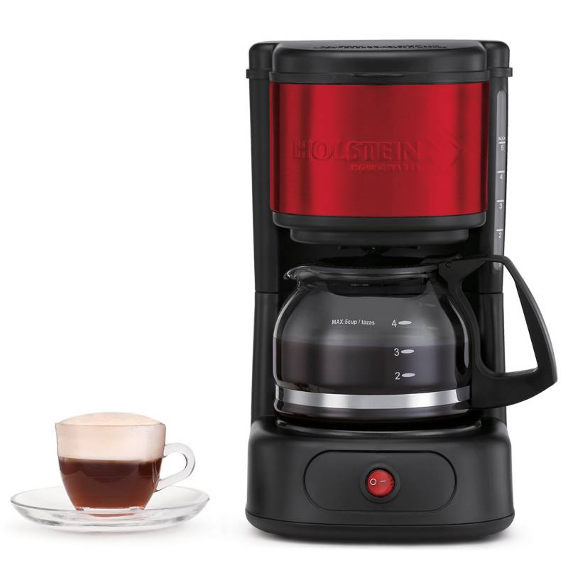 Holstein Housewares - Cafetera con Filtro 5 Tazas H-0911501R-M