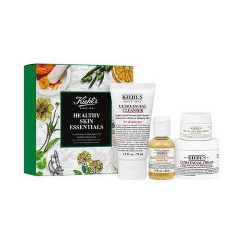 Kiehls - Set de tratamiento facial Healthy Skin Essentials Kit
