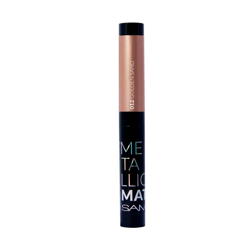Samy Cosmetics - Labial Mate Metal N 12