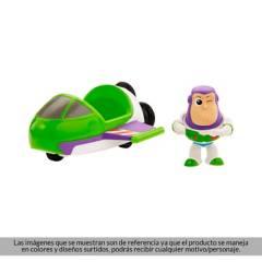 Toy Story - Mini Figura Buzz Lightyear con Vehículo