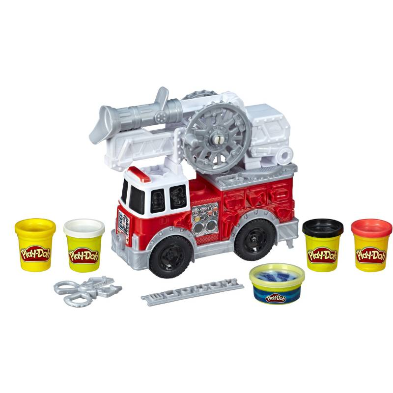Play Doh - Play-Doh Wheels Camión de Bomberos
